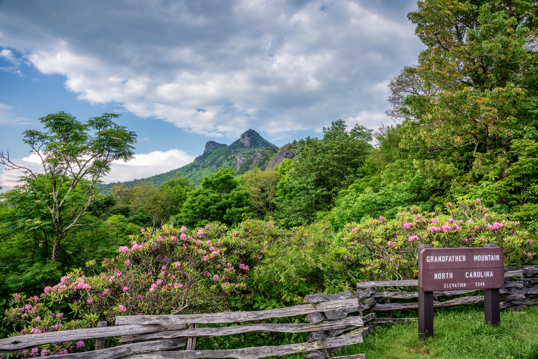 Grandfather Mountain overlook (File photo/Getty)