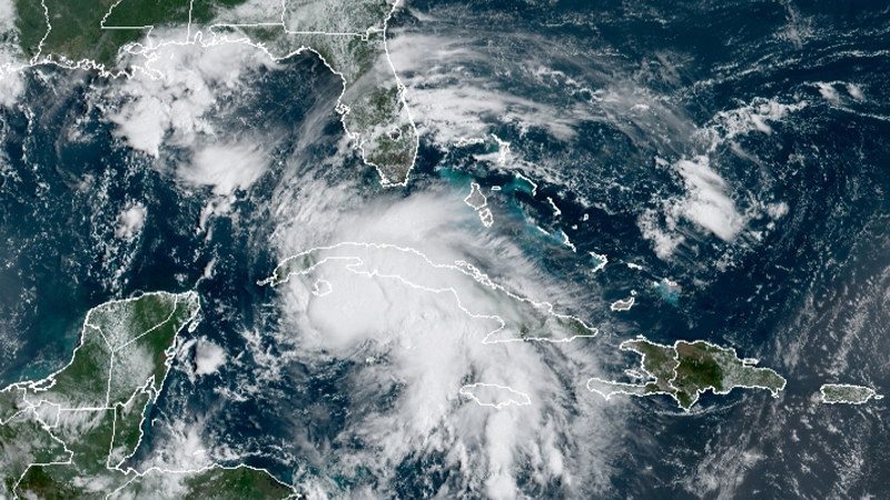 Tropical Storm Ida (Courtesy of National Hurricane Center)