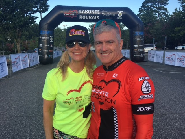 Bobby Labonte charity bike ride (credit: Timmy Hawks)