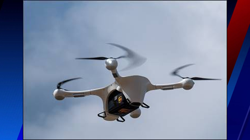 Atrium Health Wake Forest Baptist begins delivering COVID-19 vaccines with drones