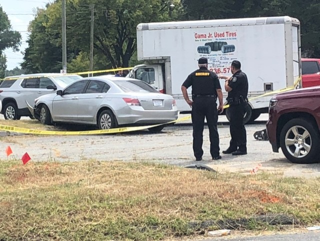 1 person shot in Greensboro; police searching for suspect