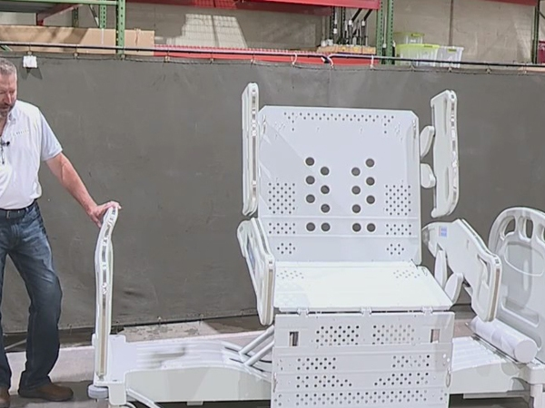 Dobson-based company develops hospital beds to make patients more comfortable