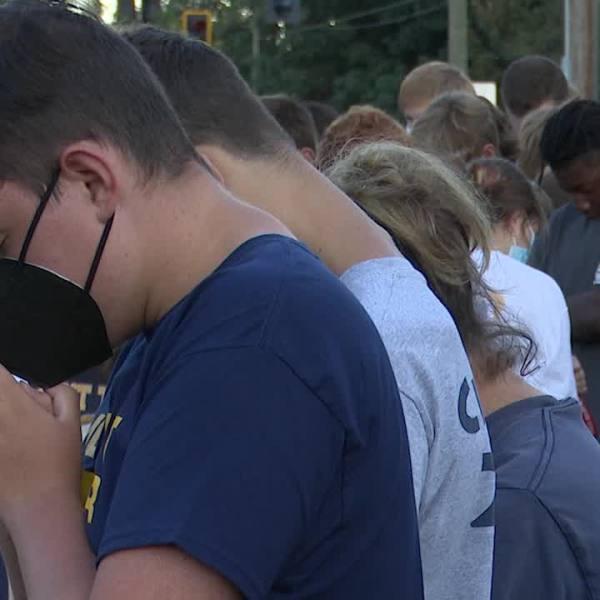 Vigil at Mount Tabor UMC