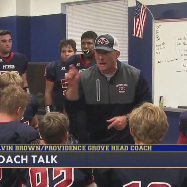 Coach Talk: Calvin Brown, head coach of Providence Grove
