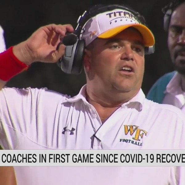 West Forsyth football coach recounts battle with COVID-19, returning to the sidelines