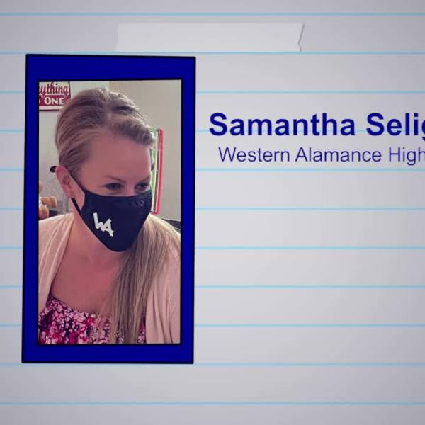 Samantha Seligman is our Educator of the Week