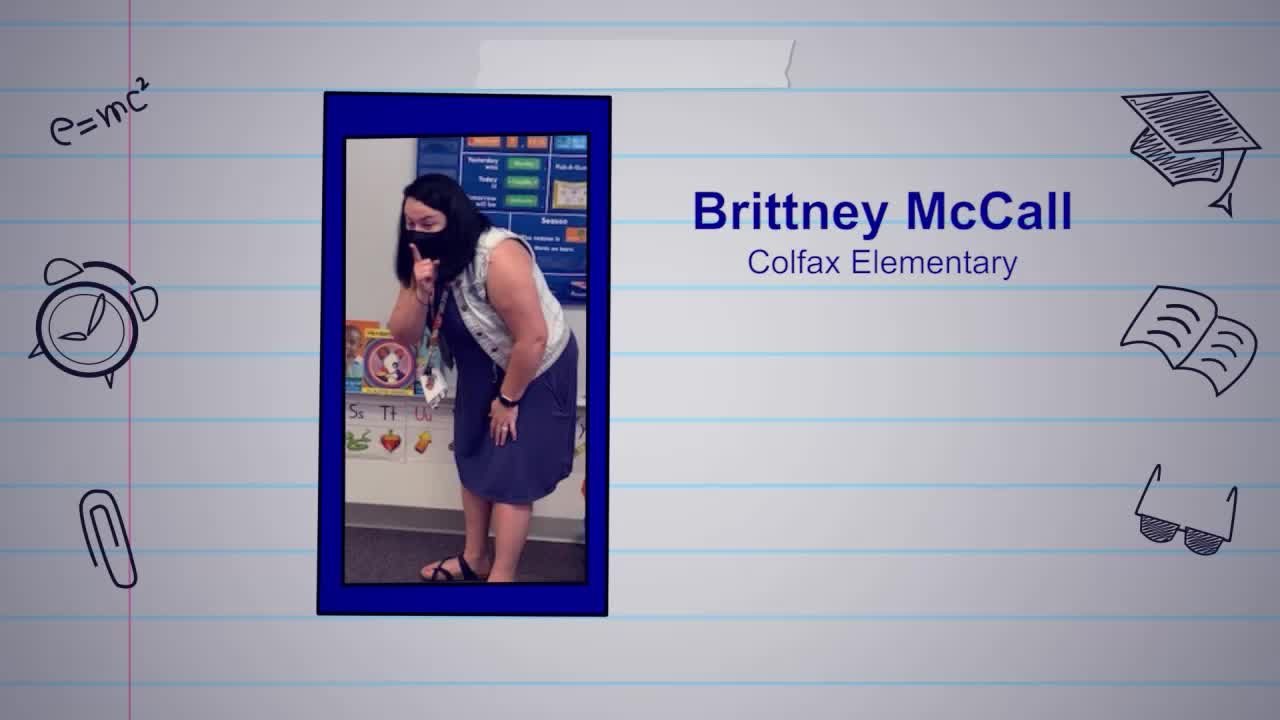 Brittney McCall is our Educator of the Week!