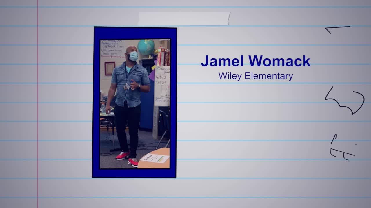 Jamel Womack is our Educator of the Week