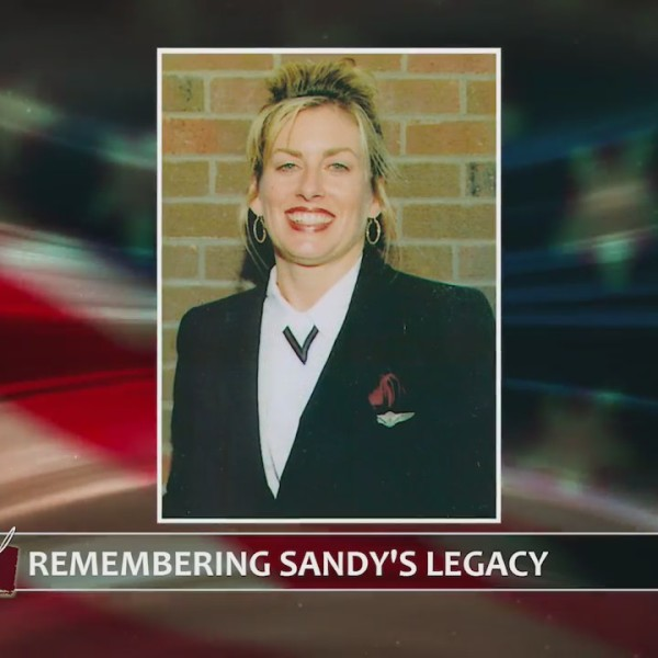 Mother honors memory of daughter killed on United Flight 93 at Eastern Randolph High School