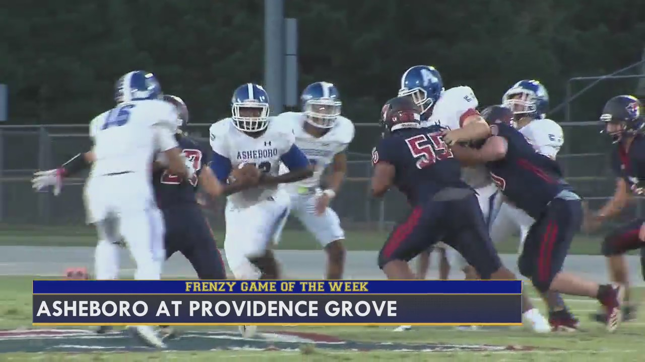 Highlights from Week 4 of the FOX8 Friday Football Frenzy