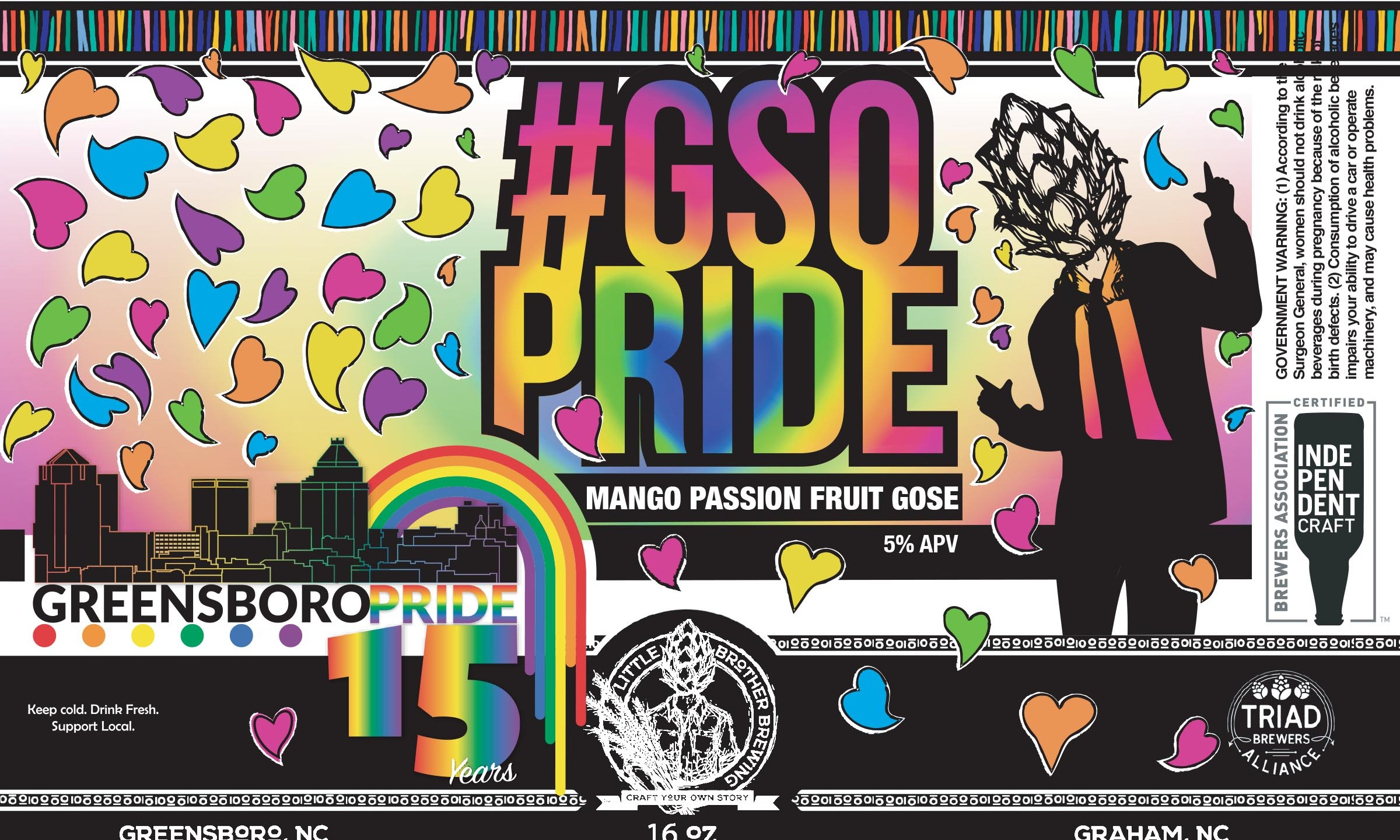 GSO Pride Beer