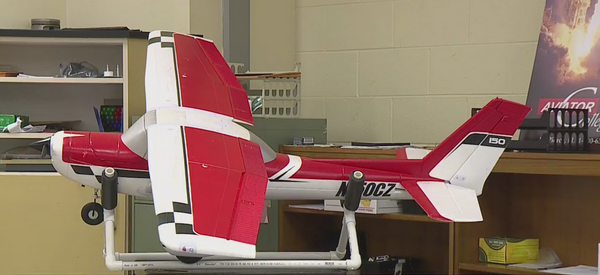 Students at the Aviation Academy at Andrews High School ready to soar to new heights