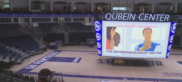 No unrealistic dreams: High Point University opens new arena, conference center, hotel