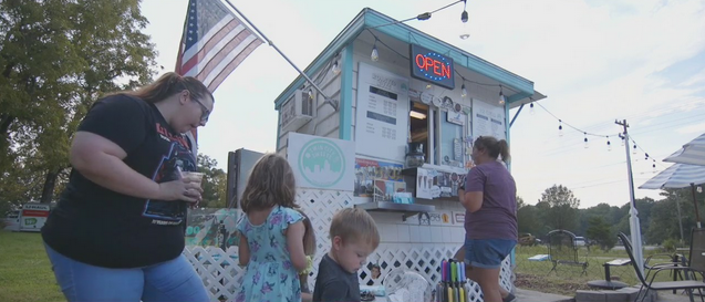 Small stand, big business: Winston-Salem ice cream stand is a hit with those looking to make summer sweeter