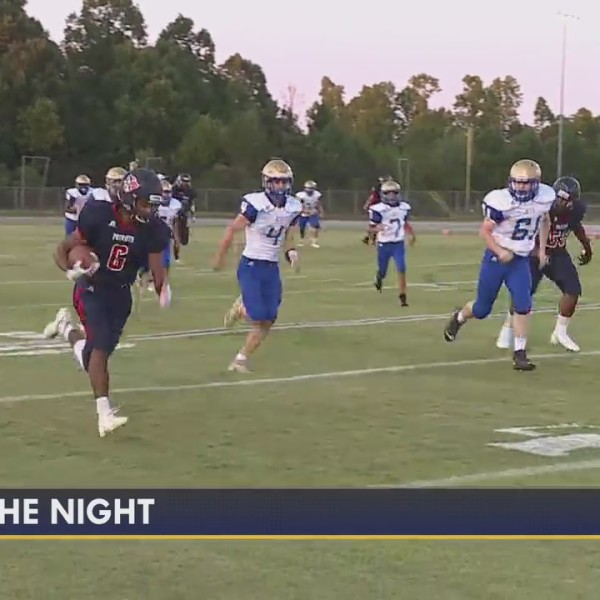Play of the Night, from Jordan Matthews vs. Providence Grove