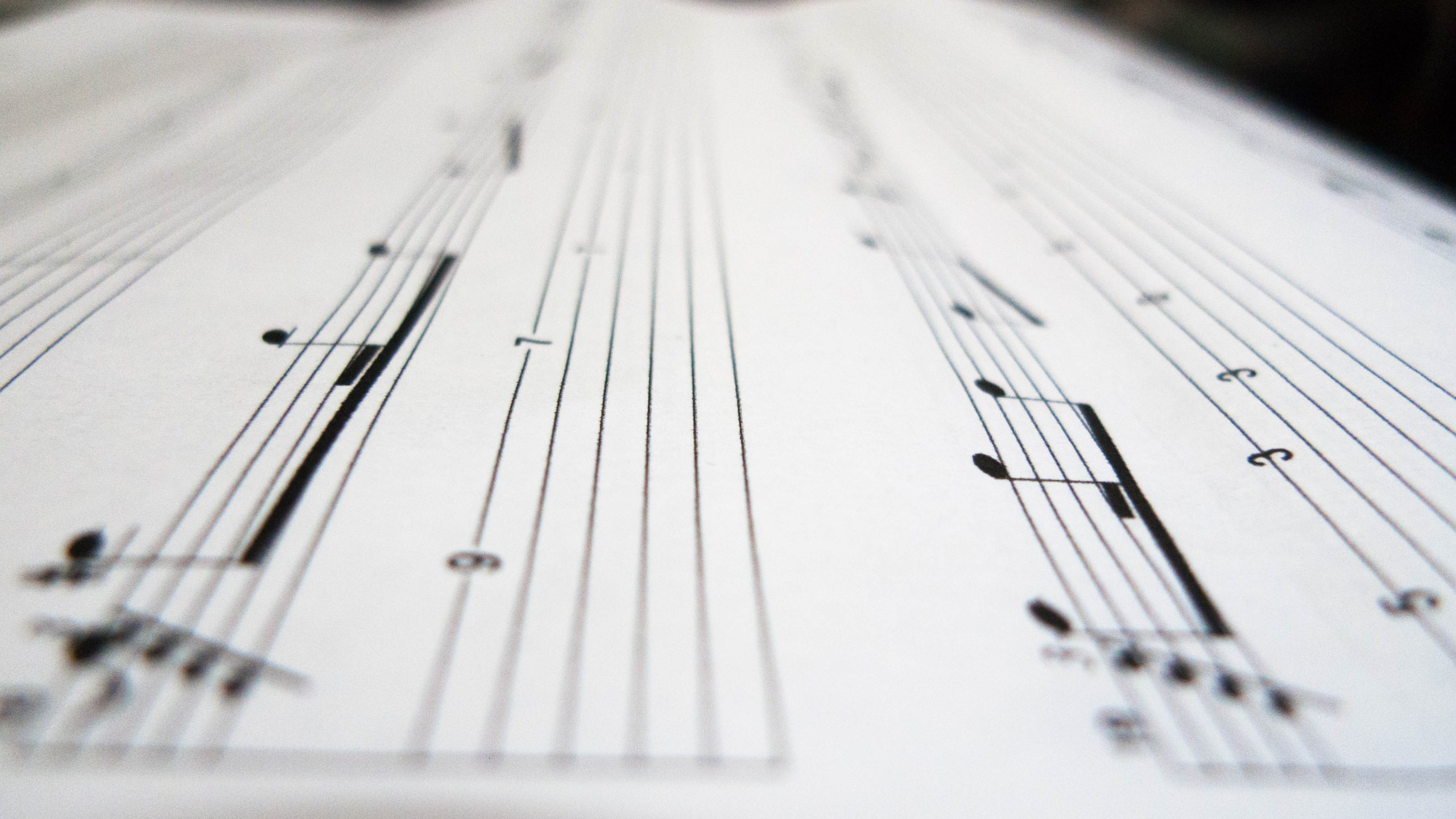 A close up shot of a musical sheet (Getty Images)