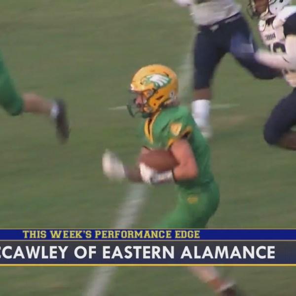 FOX8 Frenzy Performance Edge: Kasen McCawley, of Eastern Alamance High School