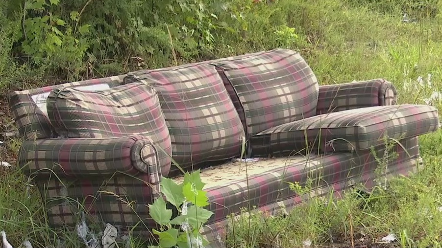 This is what people are illegally dumping on Water Oak Road; Guilford County deputies want answers