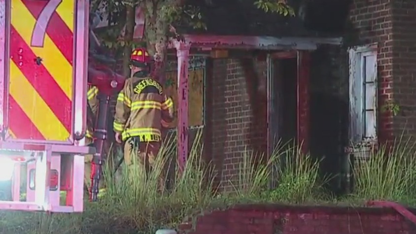 Man suffers 3rd-degree burns in fire on East Wendover Avenue in Greensboro