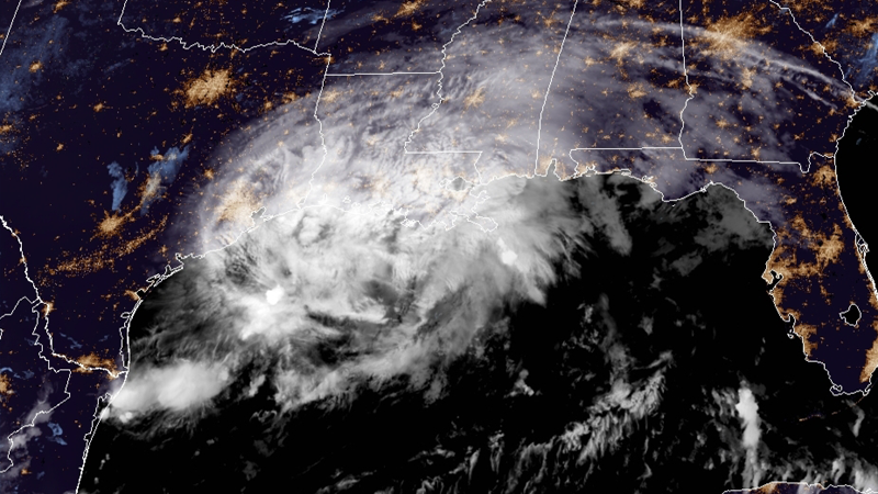 Nicholas, now tropical storm, threatens to bring deadly flash floods on path into Texas (National Hurricane Center)
