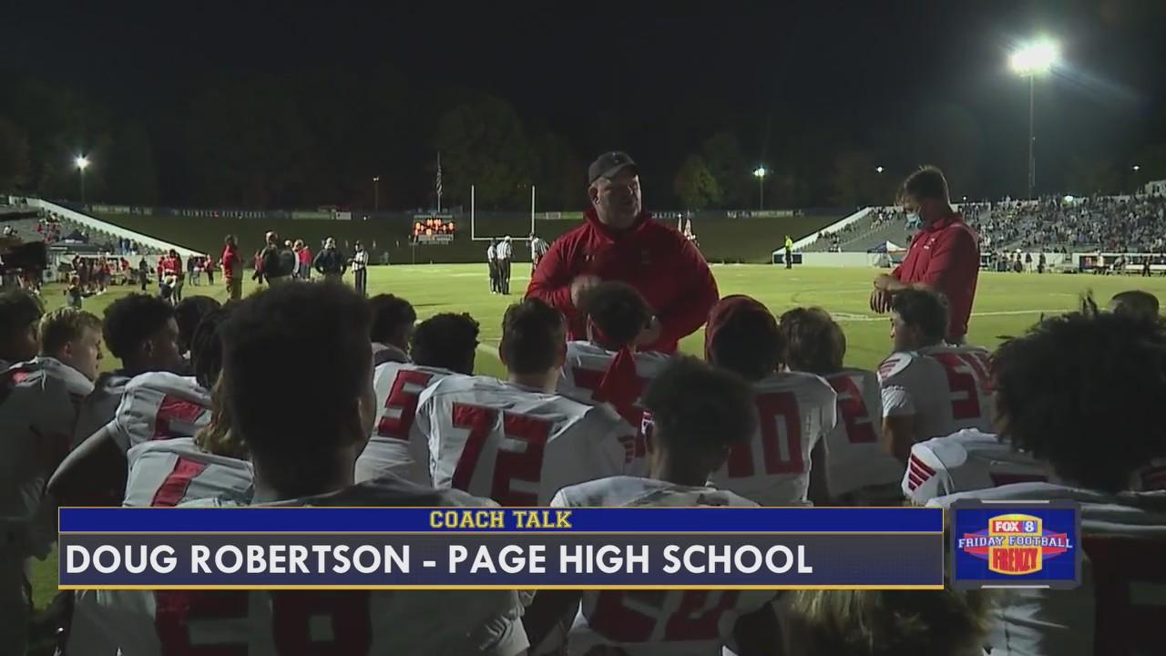 Coach Talk: Doug Robertson, head coach of Page High School