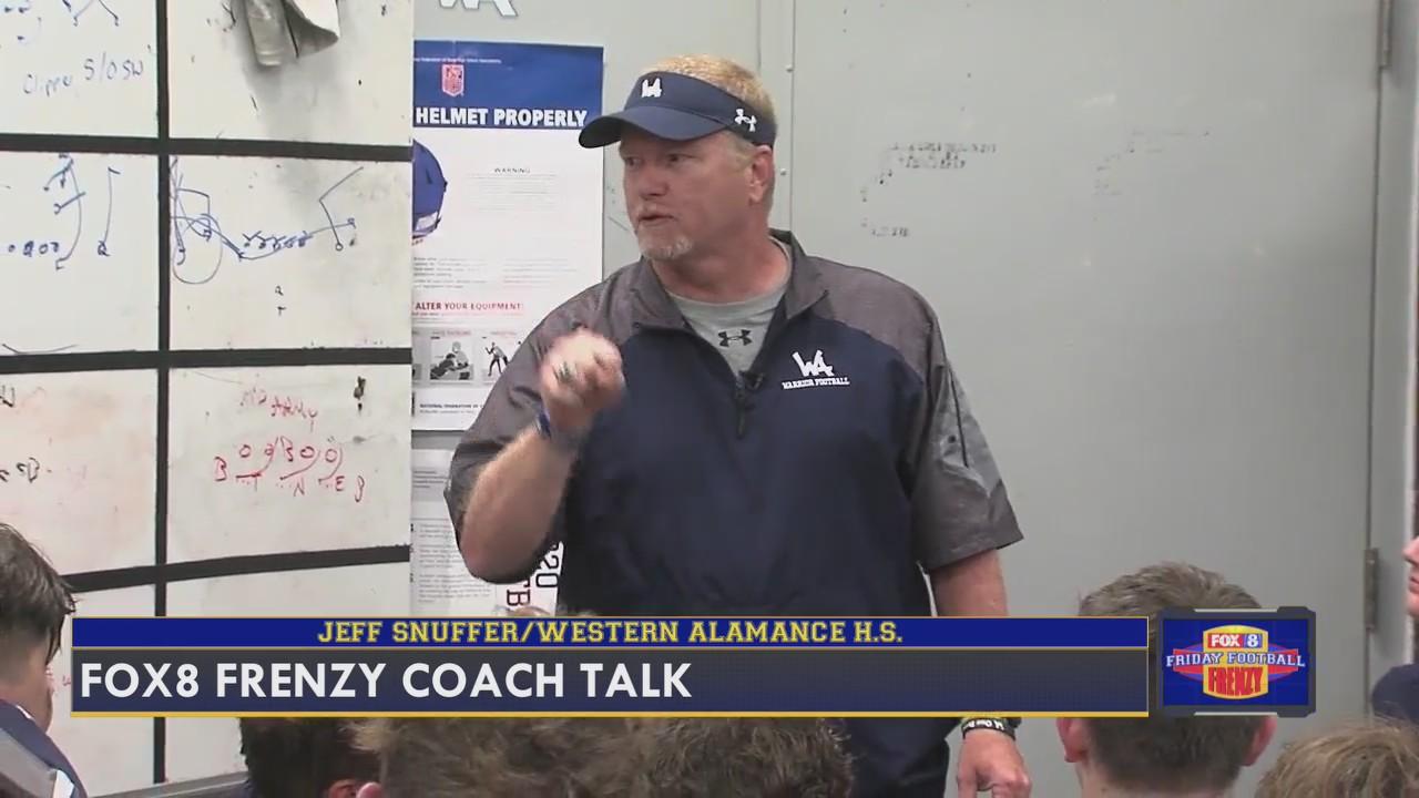 Coach Talk: Jeff Snuffer, head coach of Western Alamance High School