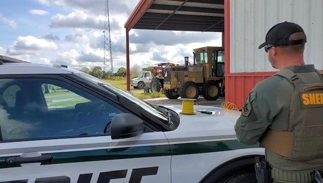 Deputies find live grenade in man's pickup truck during Florida traffic stop