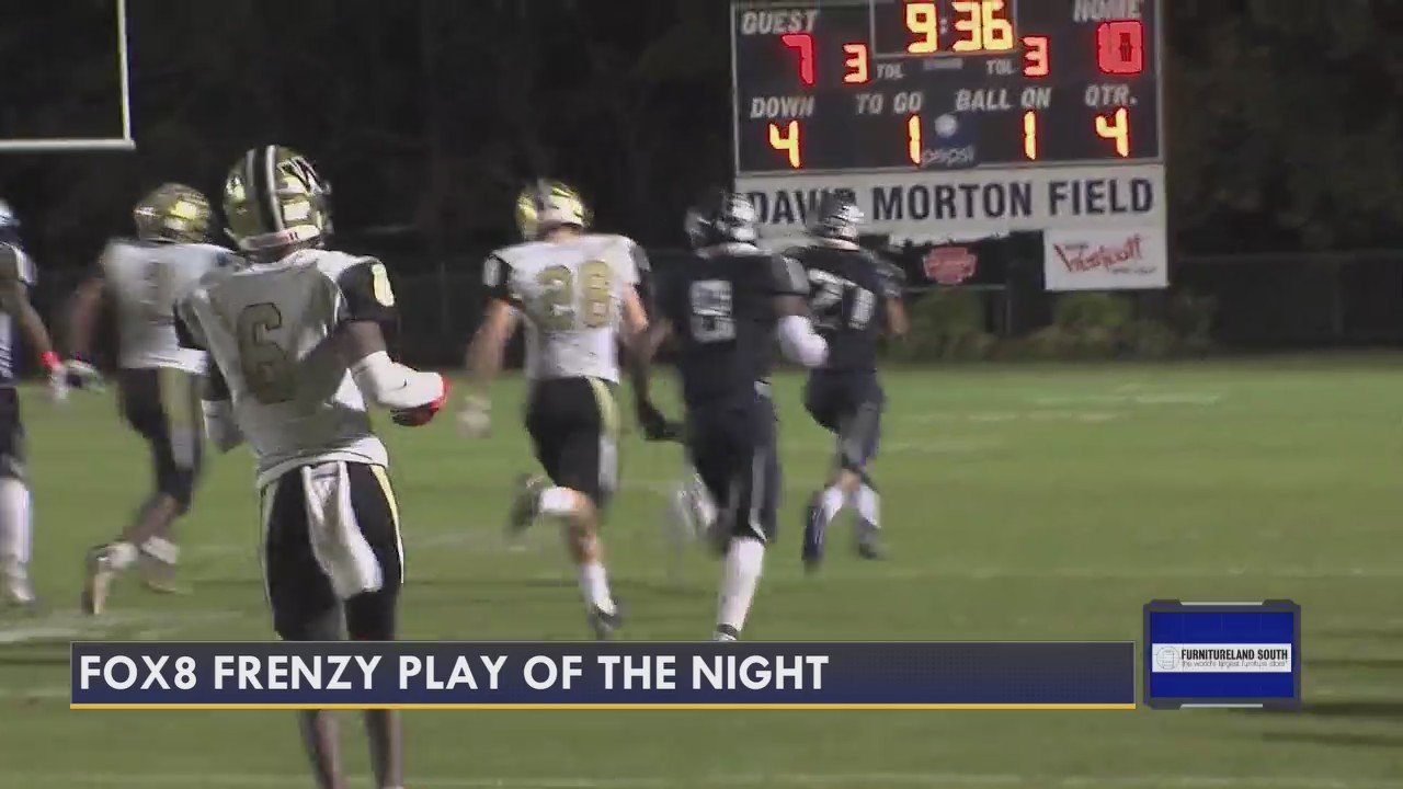 Play of the Night, from Williams vs. Western Alamance