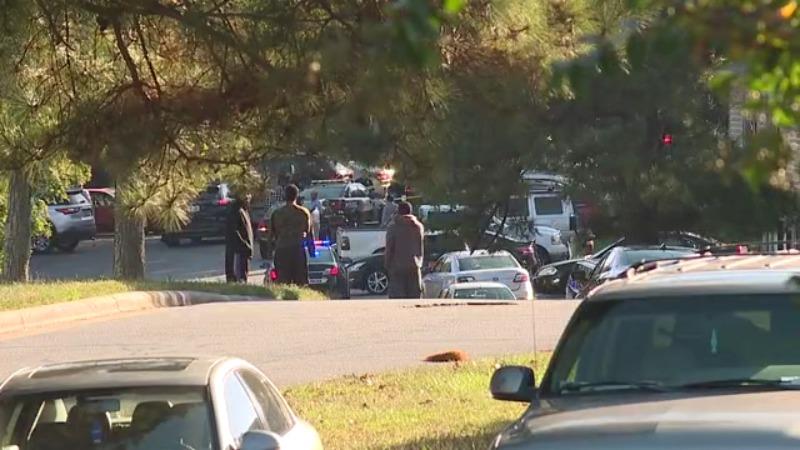 Shooting on Hahn's Lane in Greensboro