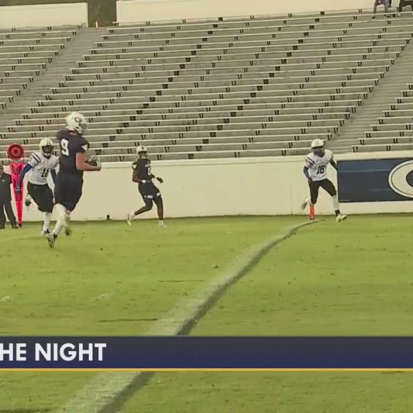 Play of the Night, from Ragsdale vs. Grimsley