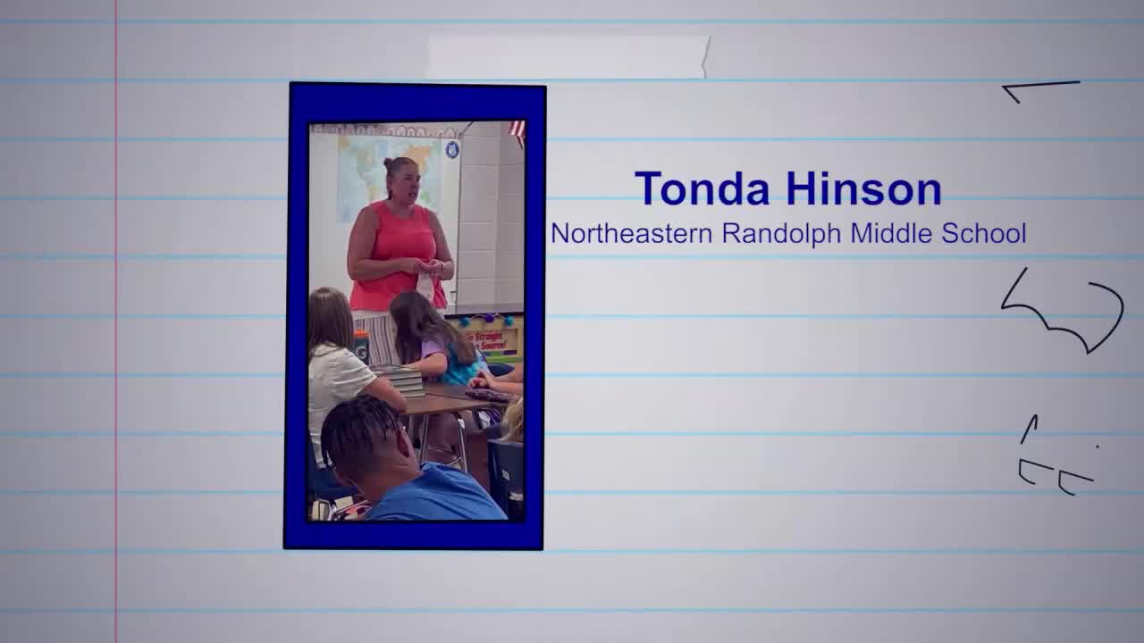 Tonda Hinson is our Educator of the Week!