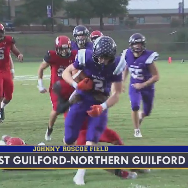 Highlights from Week 8 of the FOX8 Friday Football Frenzy