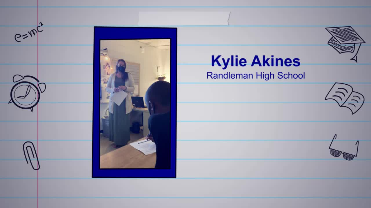 Kylie Akines is our Educator of the Week!