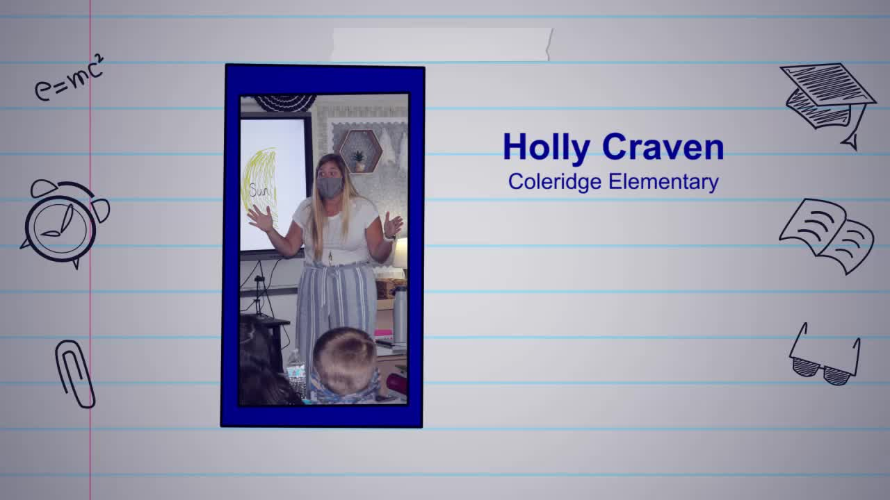 Holly Craven is our Educator of the Week!