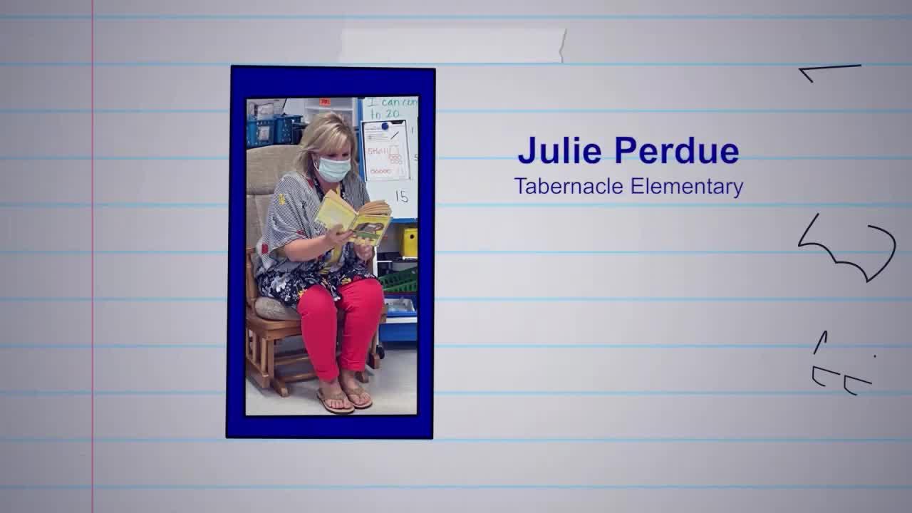 Julie Perdue is our Educator of the Week!