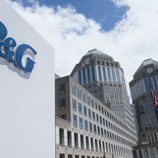 FILE - In this Thursday, July 9, 2015, file photo, the Proctor & Gamble headquarters complex is seen in downtown Cincinnati. Proctor & Gamble is raising prices on a range of goods as higher commodity and freight costs are set to take a bite out of its profits. The maker of Pampers diapers, Tide detergent and Crest toothpaste said Tuesday, Oct. 19, 2021, it has been raising prices on product lines including baby, family, home and fabric care. (AP Photo/John Minchillo, File)
