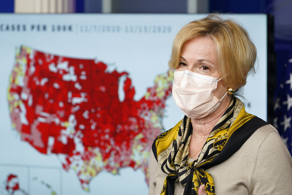 Birx tells Congress Trump White House prioritized election over pandemic response