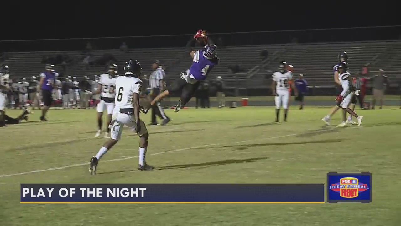 Play of the Night, from Western Guilford vs. Northern Guilford