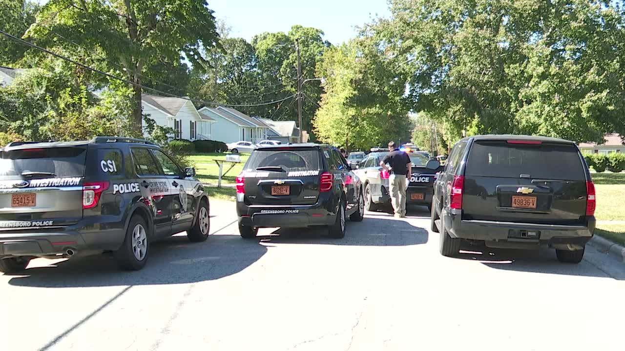 Person found with gunshot wound in Greensboro on West Avenue, taken to hospital