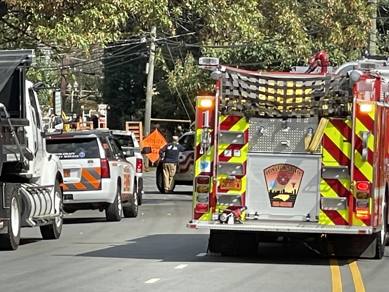 Over 100 residents in Winston-Salem evacuated from Granville Apartments after gas leak