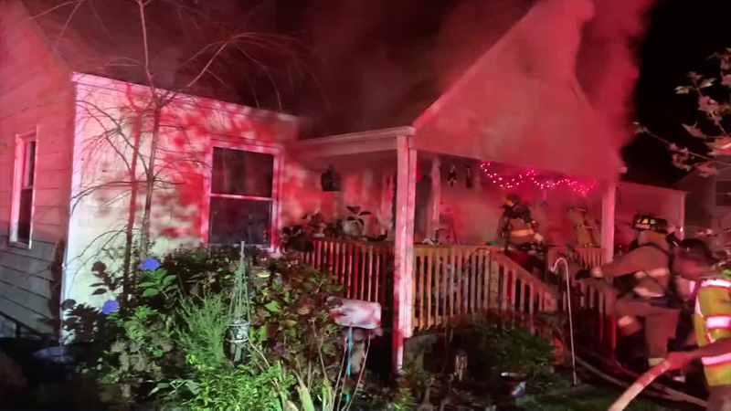 Multiple pets rescued from Winston-Salem house fire